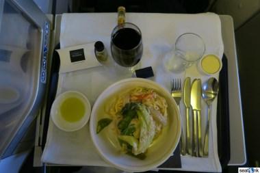 British Airways Business Class Review 747-400 Upper Deck 26