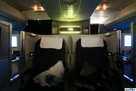 British Airways Business Class Review 747-400 Upper Deck 31