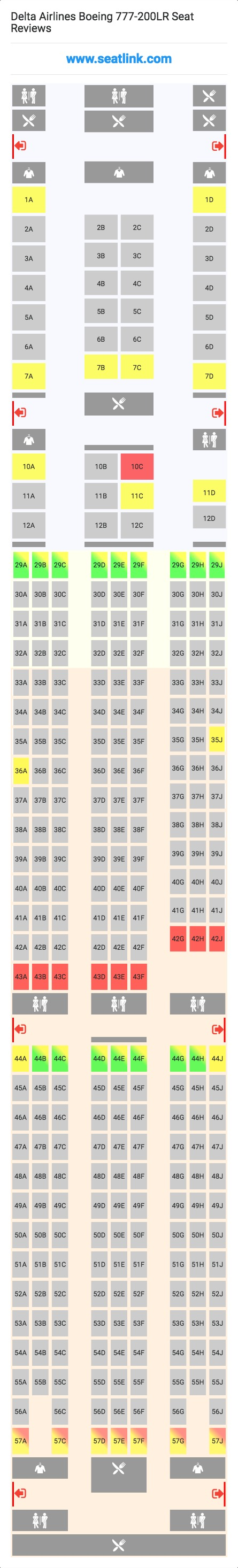 delta flight seating chart. Black Bedroom Furniture Sets. Home Design Ideas