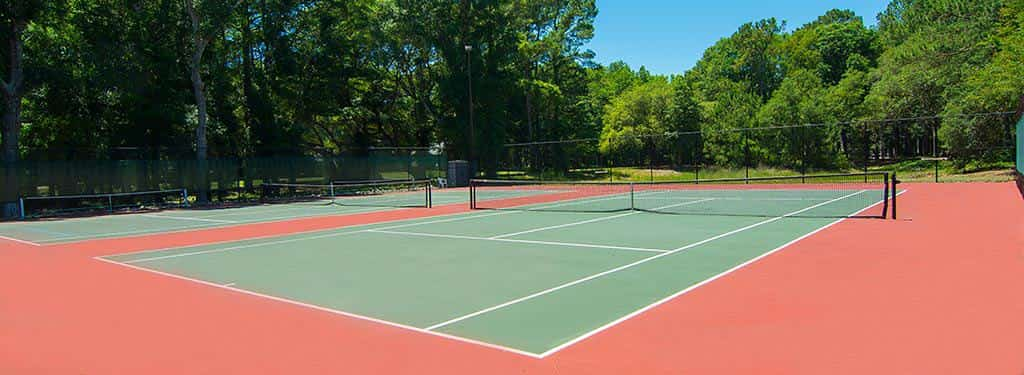 Tennis & Pickleball Courts Open Today