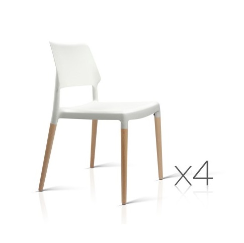 stackable wood dining chairs