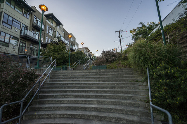 Wallingford Steps Parks Seattle Gov