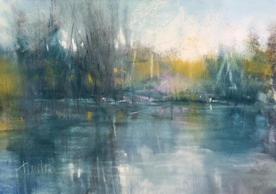 """Rock Creek Winter"", by Barbara Benedetti Newton"