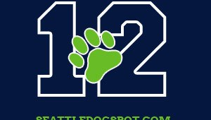 Seattle Seahawks play tonight and our 12th Dog stickers are on sale!