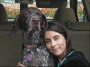Lisa McKebben's dog Sammy was electrocuted by stray voltage from a streetlight on Queen Anne Avenue N on Thanksgiving 2010.