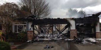 Fire Destroys Home Office for Washington Dog Rescue Group