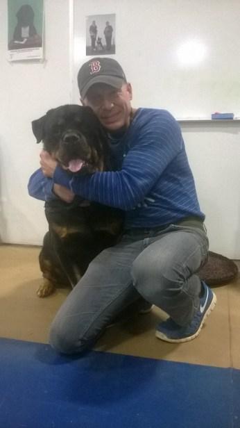 Grieving Rottweiler Owner Still Pretending He Has A Service Dog