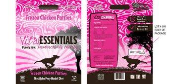 Vital Essentials Dog Food Recall Due to Potential Salmonella Contamination
