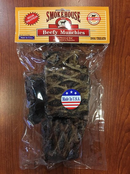 Smokehouse Pet Products Beef Crunchies Recall