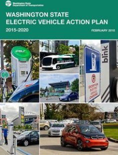 Image of Washington State EV Action Plan PDF