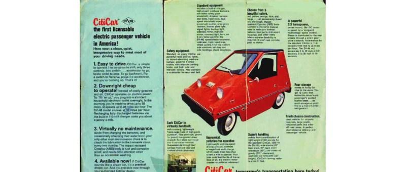 Image of 1975 Vanguard Citicar Advertisment