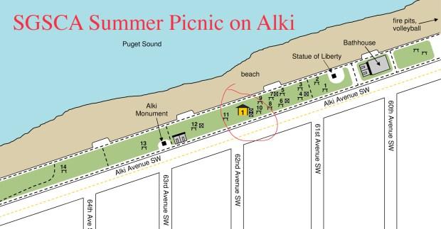 SGSCA Picnic location