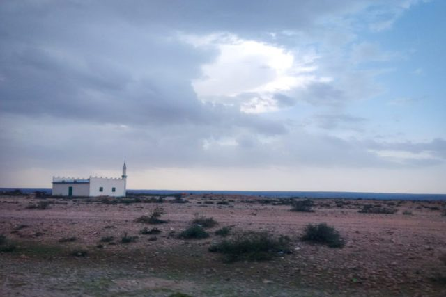 A mosque somewhere on the road from Borama to Hargeisa, Somaliland. (Photo by Hana Omar)