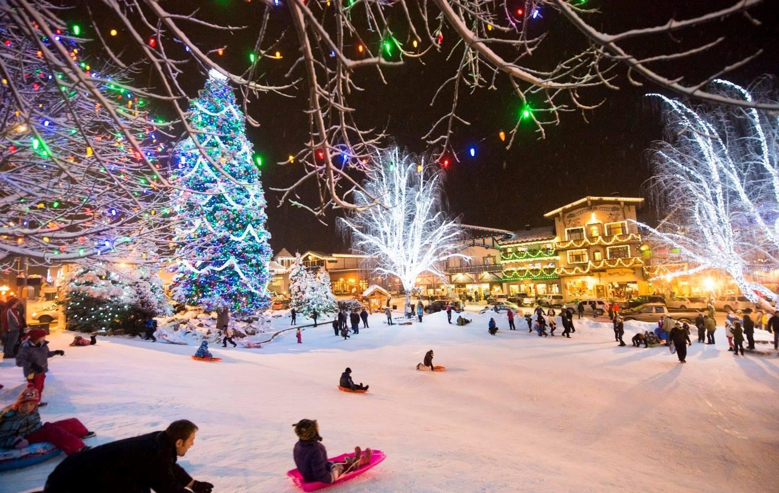 Leavenworth Tree Lighting