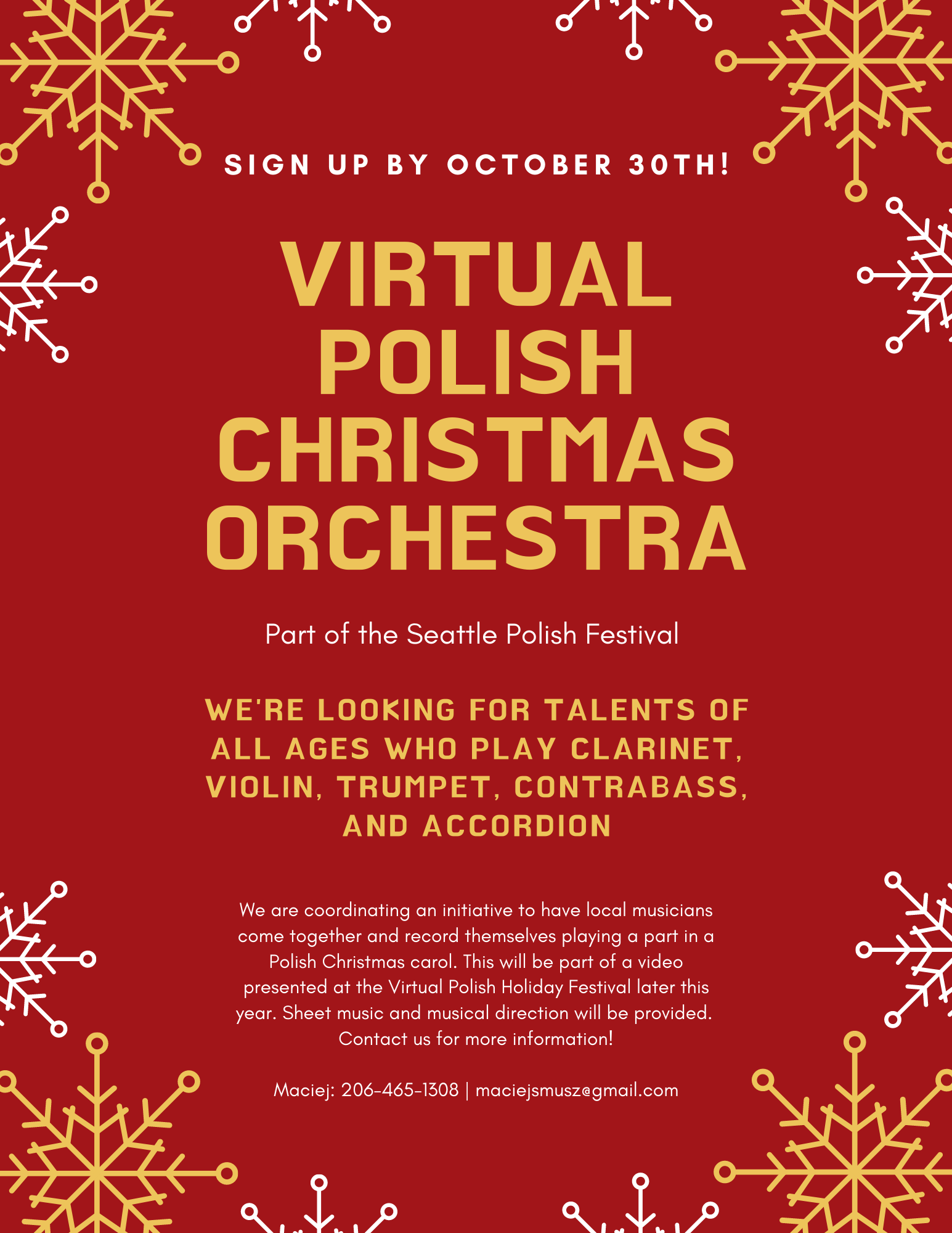 Virtual Polish Christmas Orchestra