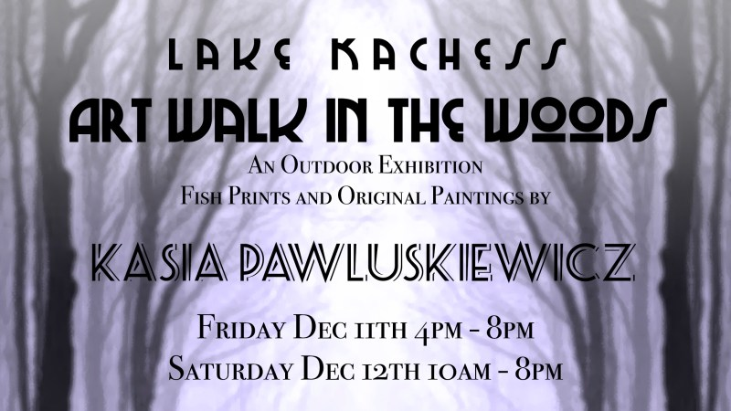 Lake Kachess Art Walk In The Woods