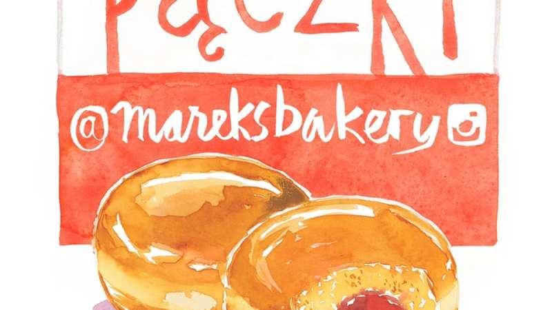 AD: Pączki from Marek's Bakery