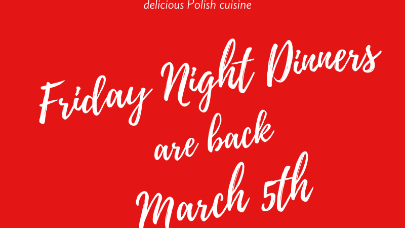 Polish Home Dining Room Opens on March 5
