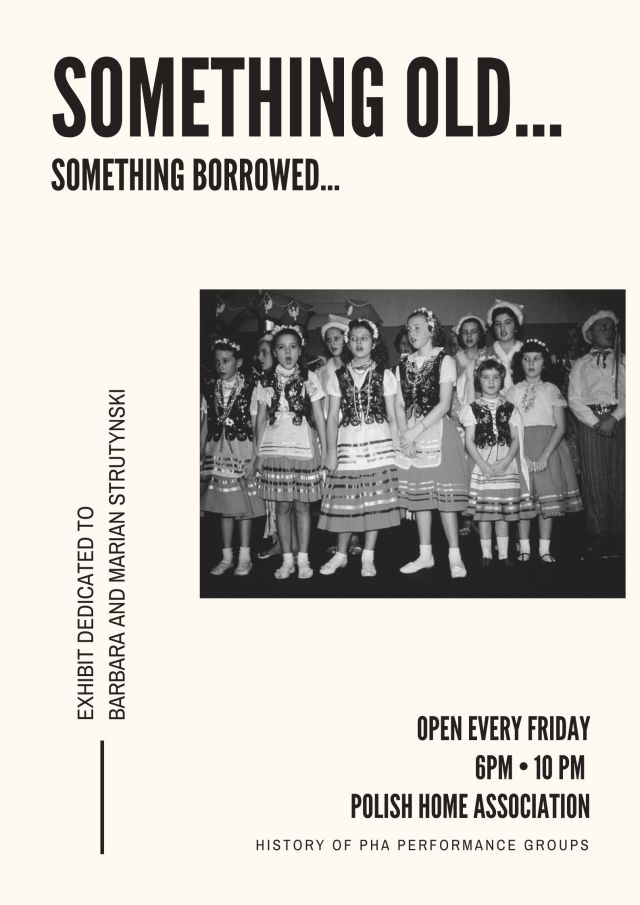 PHA Honors Barbara & Marian Strutynski, Theatre Prop Exhibition Opens