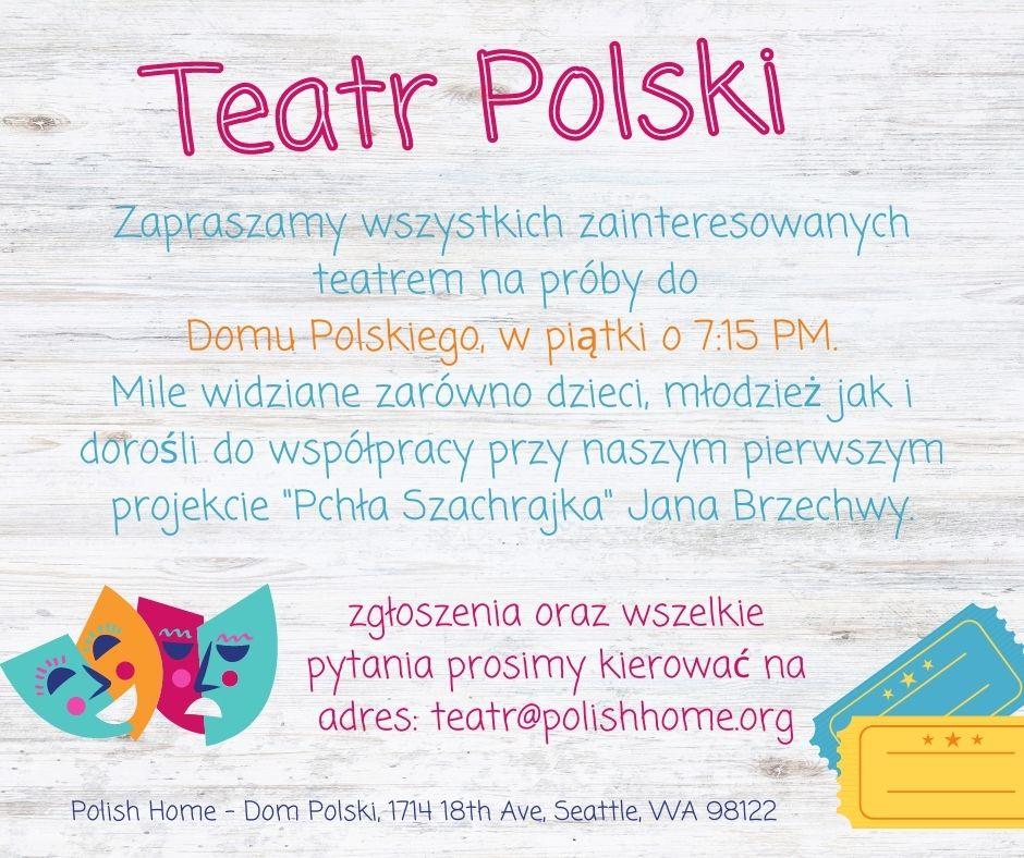 Polish Theatre Looks For Talent
