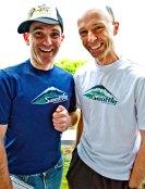 Uli Steidl (right) & Shoeless Joe