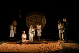 "The cast of Seattle Shakespeare Company's 2012 production of ""Antony and Cleopatra."" Photo by John Ulman."