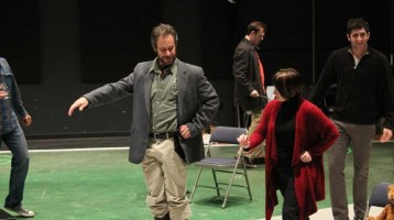 A Peek at Rehearsals for Love's Labour's Lost