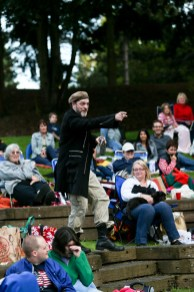 """Mike Dooly as Stephano in Seattle Shakespeare Company's 2013 Wooden O production of """"The Tempest."""""""