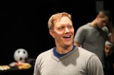 """Matt Shimkus as Benedick in rehearsal for """"Much Ado About Nothing."""""""