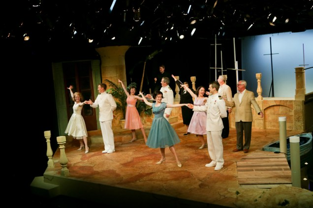 """The cast of Seattle Shakespeare Company's 2013 production of """"Much Ado About Nothing."""" Photo by John Ulman."""