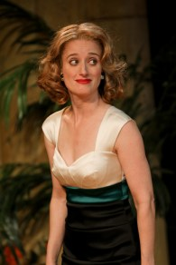 """Jennifer Lee Taylor as Beatrice in Seattle Shakespeare Company's 2013 production of """"Much Ado About Nothing."""" Photo by John Ulman."""