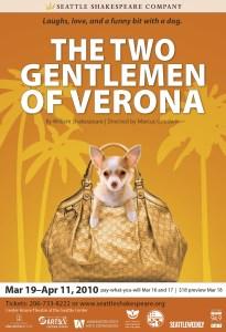 The Two Gentlemen of Verona Poster