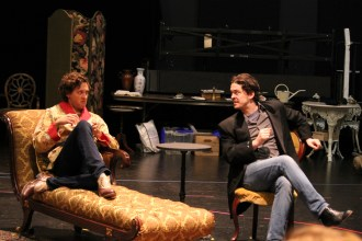 Quinn Franzen as Algernon and Connor Toms as Jack.