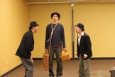 Todd Jefferson Moore as Vladimir, Jim Hamerlinck as Lucky and Darragh Kennan as Estragon