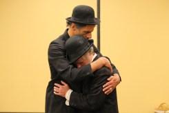 Todd Jefferson Moore as Vladimir and Darragh Kennan as Estragon