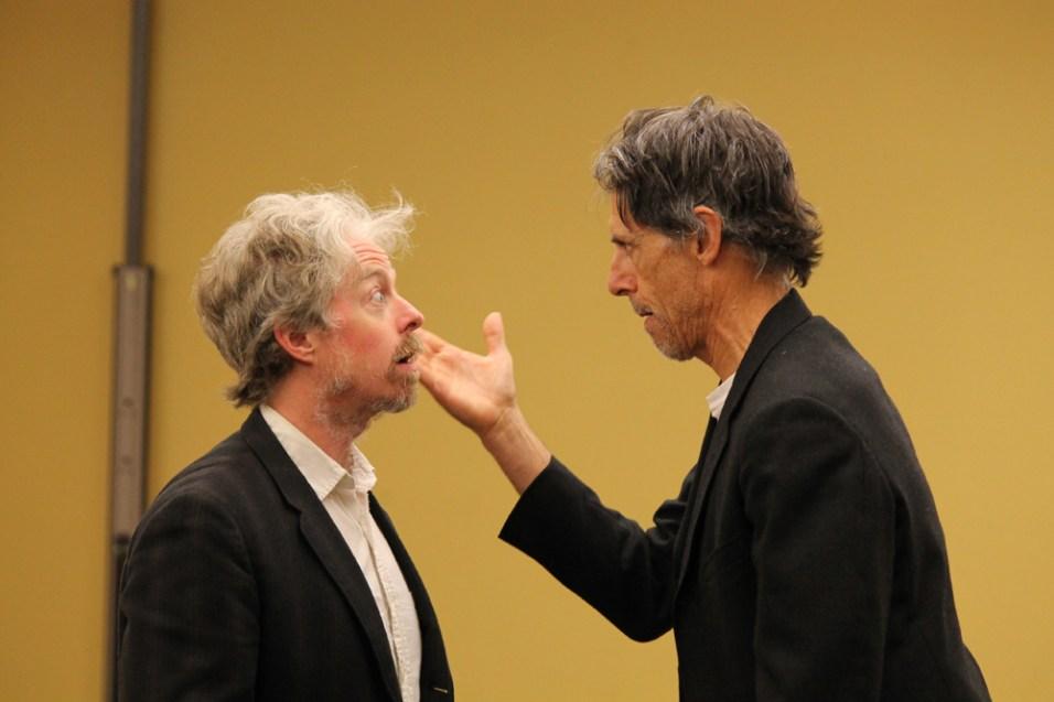 Darragh Kennan as Estragon and Todd Jefferson Moore as Vladimir