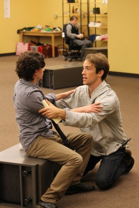 Christopher Morson as Sebastian and Joey Shaw as Antonio.