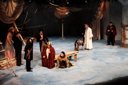 The cast of The Tempest