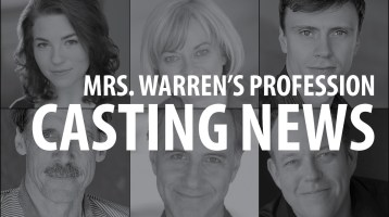 Casting News: Mrs. Warren's Profession