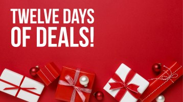 Twelve Days of Deals Holiday Sale