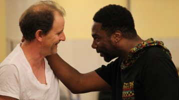 Julius Caesar in Rehearsal