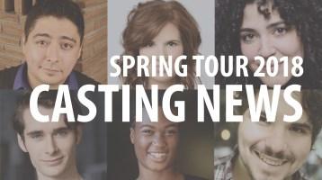 Casting News: Tour 2018