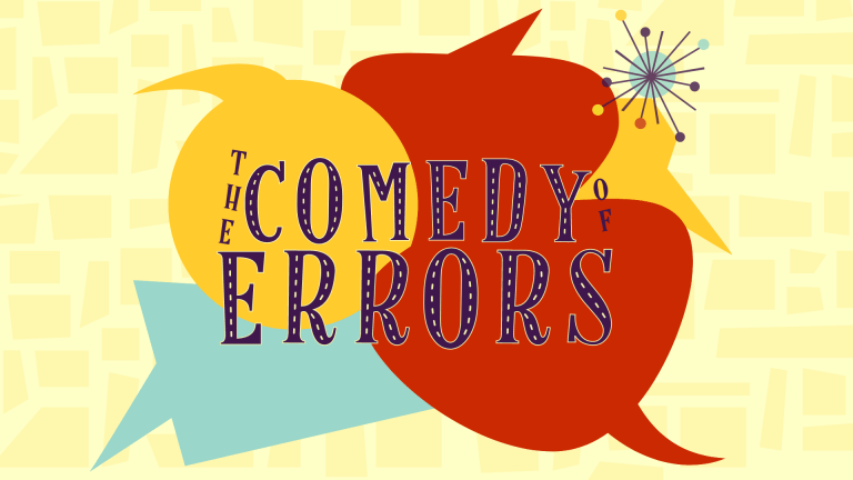 The Comedy of Errors 2021 Wooden O