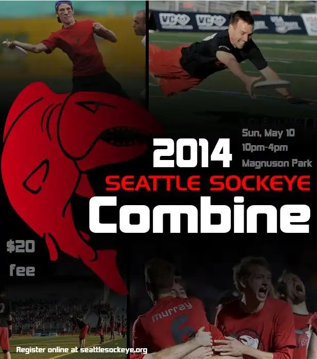 Seattle Sockeye Ultimate Tryouts '14