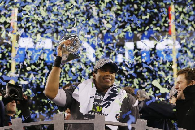 2014 Super Bowl Champions Seattle Seahawks