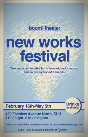 boom! theater company, New Works Festival, Phase II
