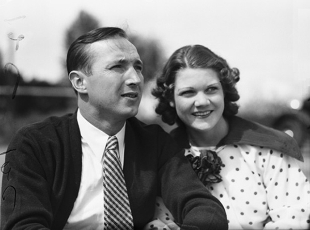 Marion Zioncheck and his wife Rubye Louise Nix in summer 1936 Museum of History & Industry