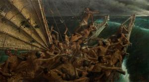 The Arrival of the Maoris in New Zealand, by Steele and Goldie