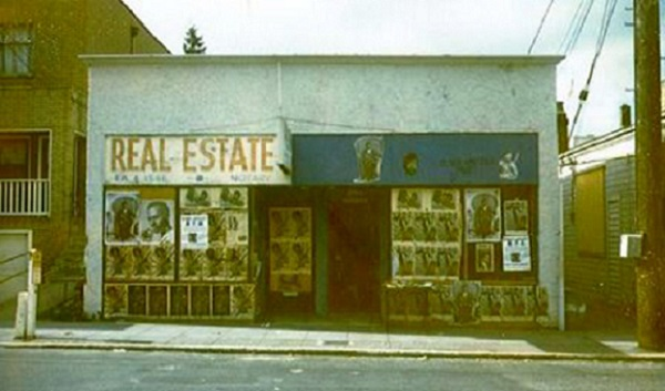 The original Seattle Black Panther Party headquarters in Madrona
