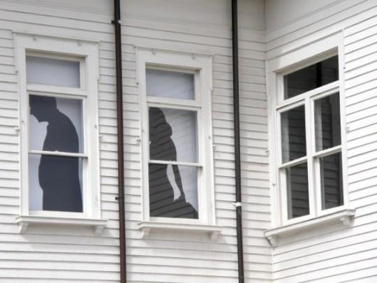 2 people 3 windows